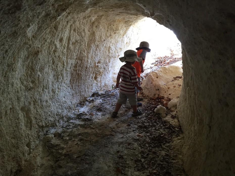 Dans les tunnels